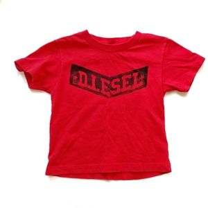 Diesel T-shirt Red 2t , bundle and save!